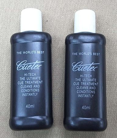 Cuetec Hi-Tech Cue Treatment