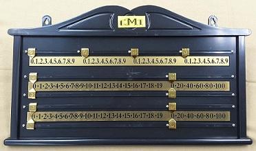 Plastic Scoreboard