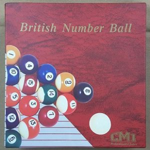 CM1 TC Pool Ball 2""