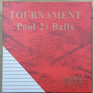 CM1 TC Pool Ball 2.14""