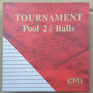 CM1 TC Pool Ball 2.16""
