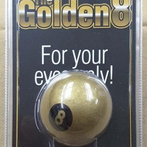 Golden 8 Ball