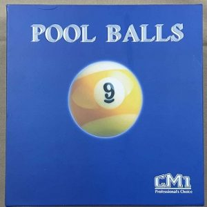 "Pool Ball 2.14"" (Blue Box)"