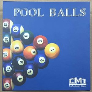 "Pool Ball 2.16"" (Blue Box)"